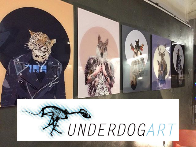 Paul Kingsley Squire at the Underdog Gallery