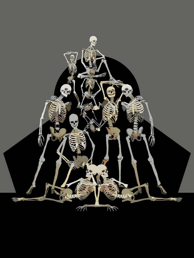An Idol of bones