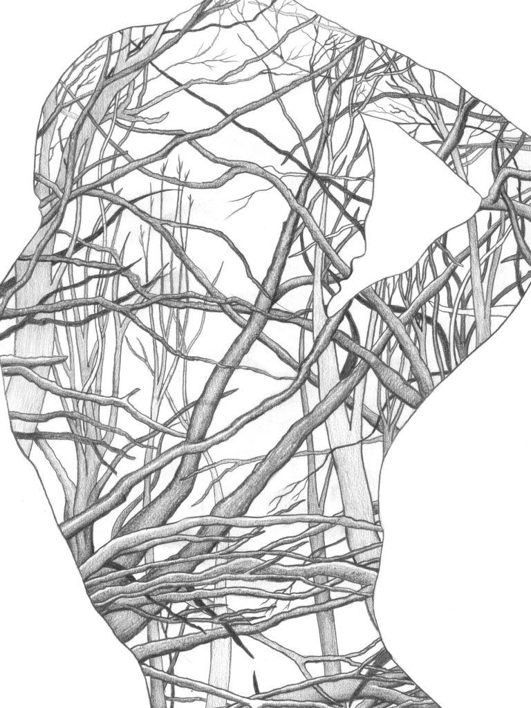 Human Nature 4 | A2 Giclée Print - detail