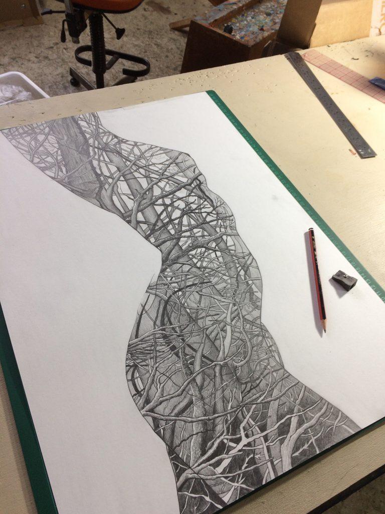 Human Nature 2 | A2 Giclée PrintHuman Nature 2 | Original drawing