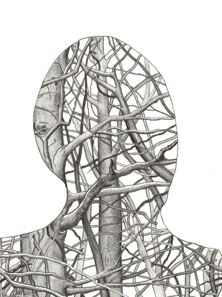 Human Nature 3 | A2 Giclée Print - detail