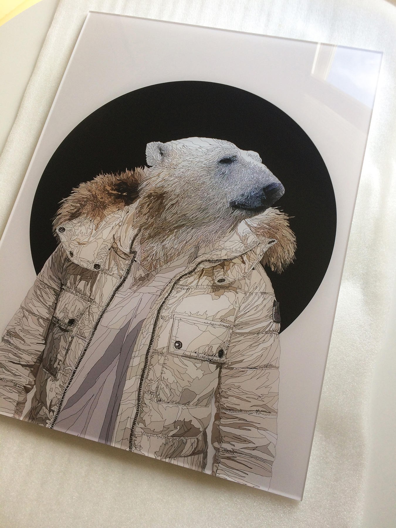 Stay Cool - Limited edition print on acylic mount