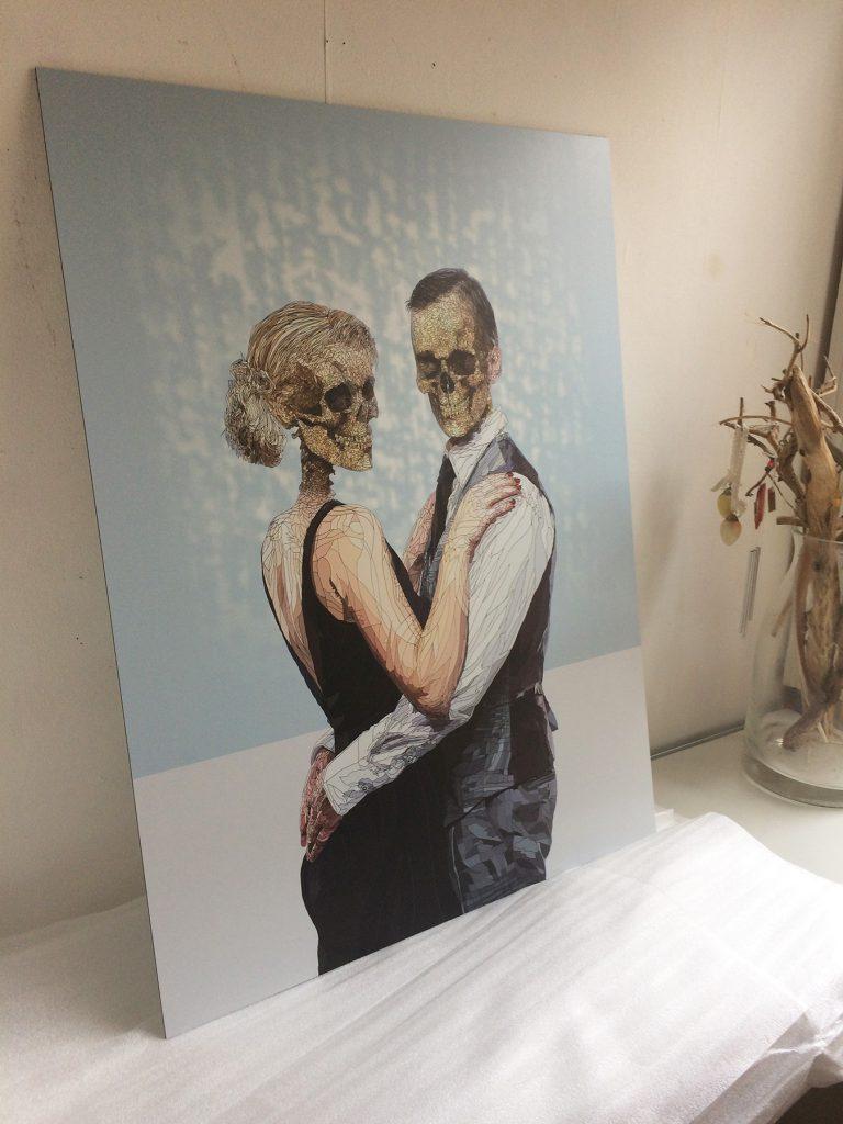 The Danse Macabre - 60 x 80 cm aluminium print - artist proof