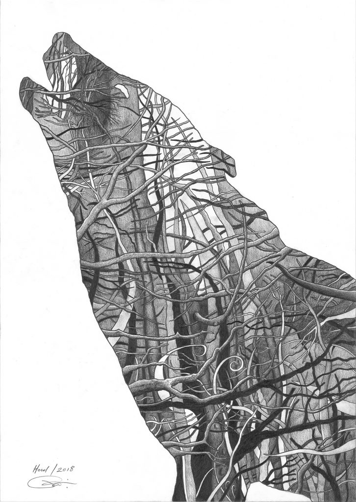 Howl | Giclee Print