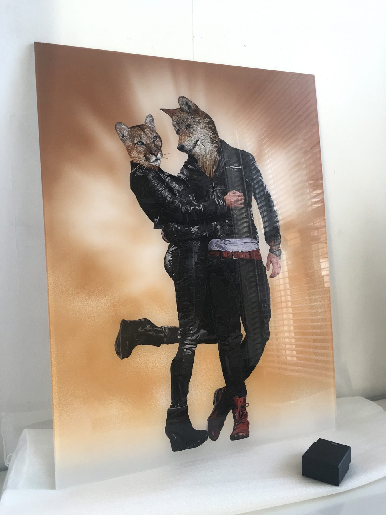 True Romance - ex display first edition acrylic glass print
