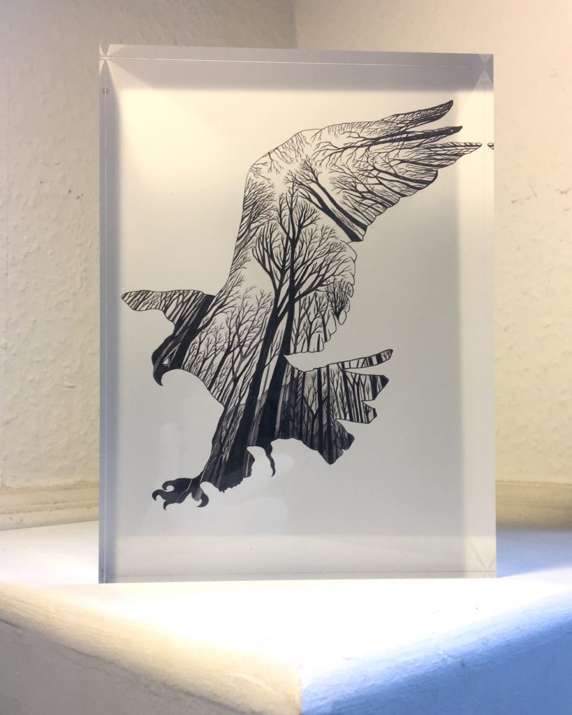 Swoop - Acrylic glass block